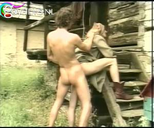blowjob, tirant et baise en plein air.